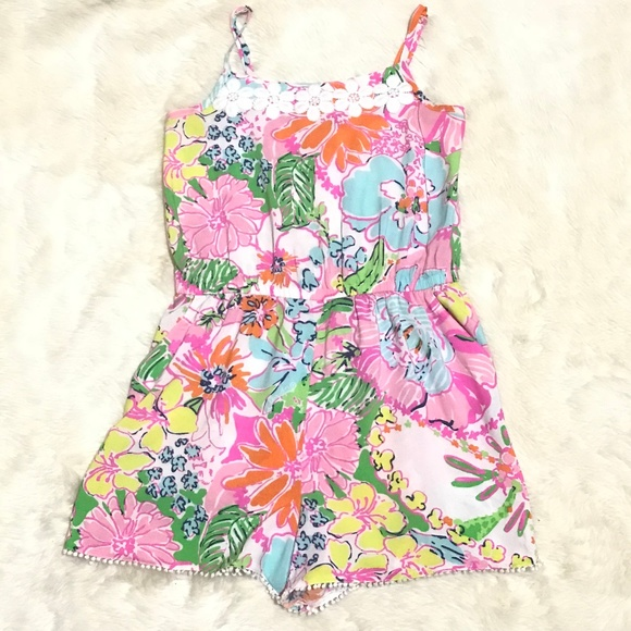 f37adff52939 Lilly Pulitzer Other - Lilly Pulitzer x Target Nosie Posey Shorts Romper